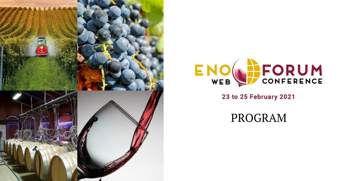 Enoforum web conference 2021 preliminary program