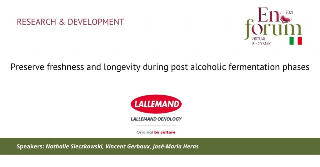 Lallemand research preserve freshness and logevity wine