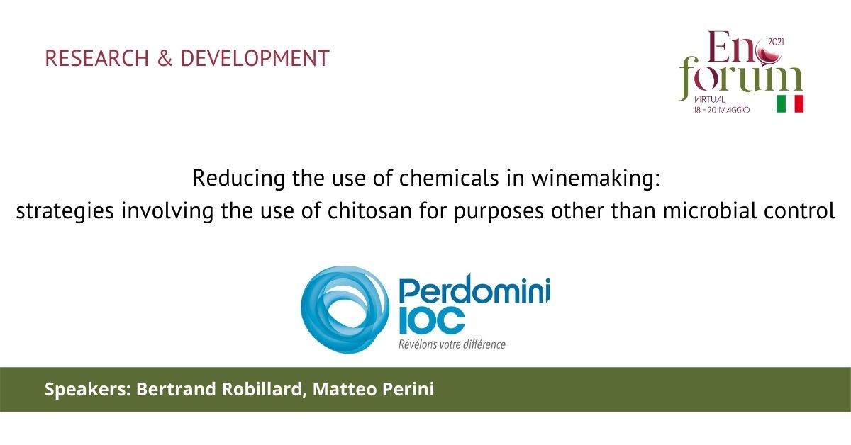 Reducing the use of chemicals in winemaking: strategies involving the use of chitosan for purposes other than microbial control