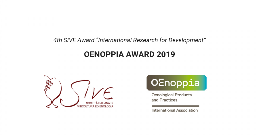 "4th SIVE-OENOPPIA Award ""International Research for Development"""
